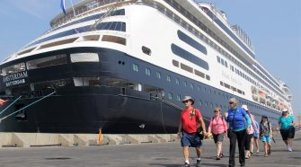 semarang city tour cruiship passengers