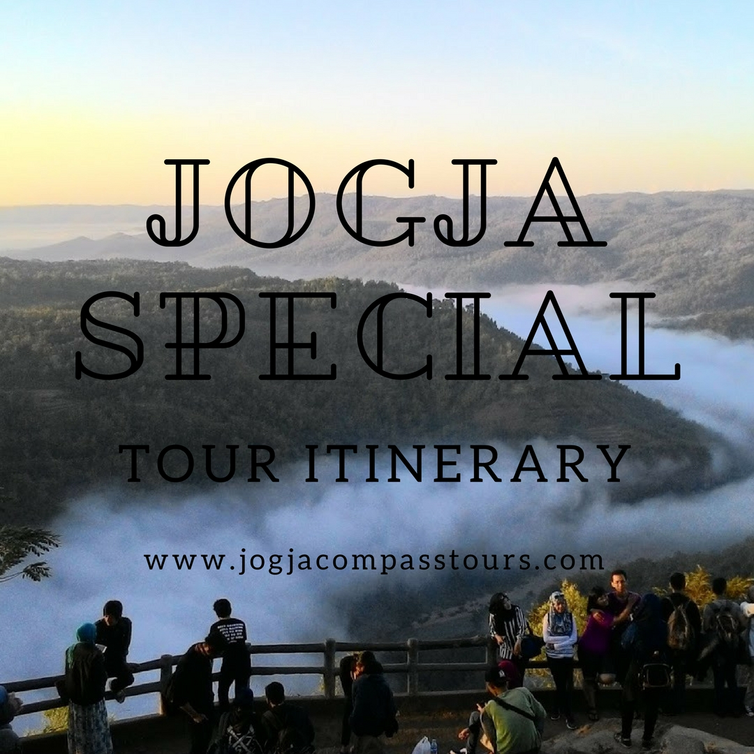3 days 2 nights jogja special tour itinerary