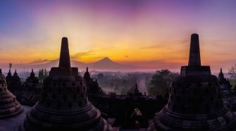 borobudur sunrise - prambanan sunset tour